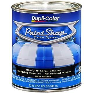 Dupli Color Bsp204 Deep Blue Metallic Paint Shop Finish