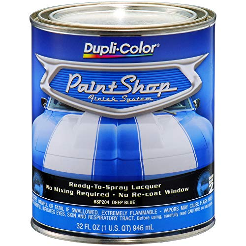 Dupli-Color BSP204 Deep Blue Metallic Paint Shop Finish System - 32 - Blue Metallic Paint