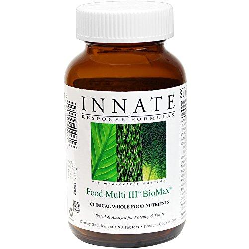 INNATE Response Formulas - Food Multi III BioMax, Herb Free Foundational Multivitamin, 90 - Chromium 90 Tabs Gtf