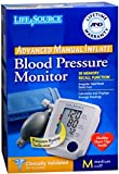 LifeSource Advanced Blood Pressure Monitor Manual Inflate UA-705V 1 Each (Pack of 7)