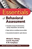 img - for Essentials of Behavioral Assessment book / textbook / text book