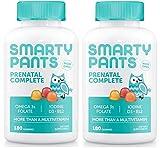 #3: SmartyPants Prenatal Complete Gummy Vitamins: Multivitamin & Omega 3 Fish Oil (DHA/EPA Fatty Acids), Folate (methylfolate), Vitamin D3, 360 COUNT, 60 Day Supply