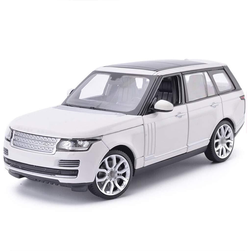 DUWEN-Modello di auto Land Rover Range Rover Modello di Auto Fuoristrada 1 24 Emulazione di Lega Modello di Auto Collezione di Decorazioni per Auto (colore   Bianca)