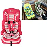 Steering Covers Auto Accessories Kids Children Car Seat Safety Toddler Booster Portable Carrier Cushion Green, Fit Age: 9 Months - 12 Years Old (Color : Color2)
