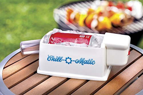 Chill-O-Matic Automatic 60 Second Beverage Chiller in White - Zone Outdoor Beverage