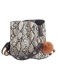 NINGZ Fashion Women Envelope Clutch Bag Purse Handbag Snakeskin Chain Shoulder Crossbody Bag Evening Bag