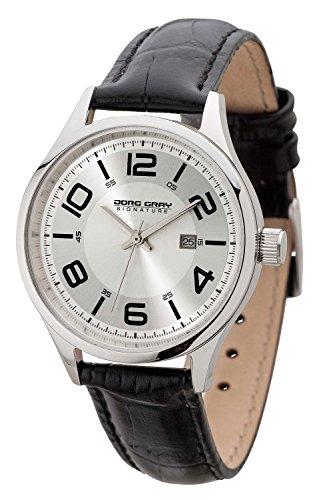 Jorg Gray JGS2571 - Wristwatch, Women, Leather, Color: Black