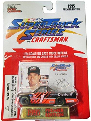 Racing Champions 1995 Craftsman Nascar Super Truck Series - #1 Sears Truck - P.J. Jones Craftsman Truck Series Racing