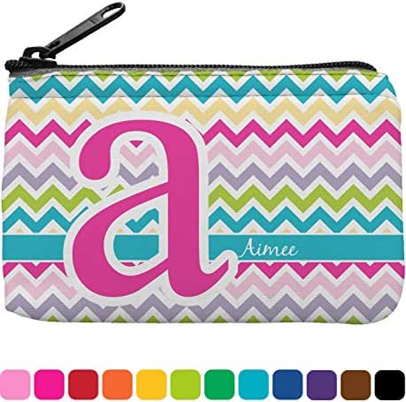 Colorful Chevron Rectangular Coin Purse (Personalized)