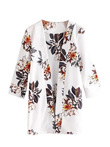 Floral Print Coat - 9