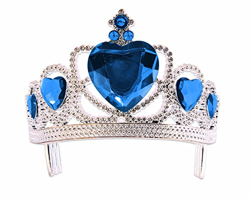 Forum Novelties Heart Tiara Novelites, Royal Blue,