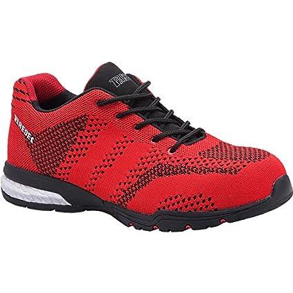 Paredes SPRO+ SILVERSTONE ROJO PAREDES SP5039-RO/48 - Zapatilla deportiva seguridad rojo,