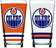 NHL Edmonton Oilers Mixing Glass, 2-Pack