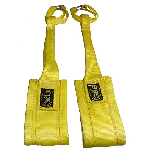Spud Inc Heavy Duty Hanging Abdominal Straps 1 Pair Ab Strap (YELLOW)