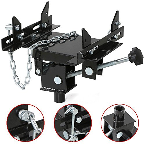 Trans Jack (Gotobuy 1/2 ton Transmission Jack Adapter Automotive Floor Jack Trans)