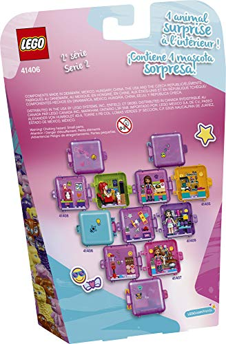LEGO Friends Stephanie's Shopping Play Cube 41406 Building Kit, Mini-Doll Set That Promotes Creative Play, New 2020 (44 Pieces)