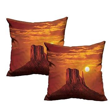 Amazon.com: Fundas de almohada con diseño de cañón de HeKua ...