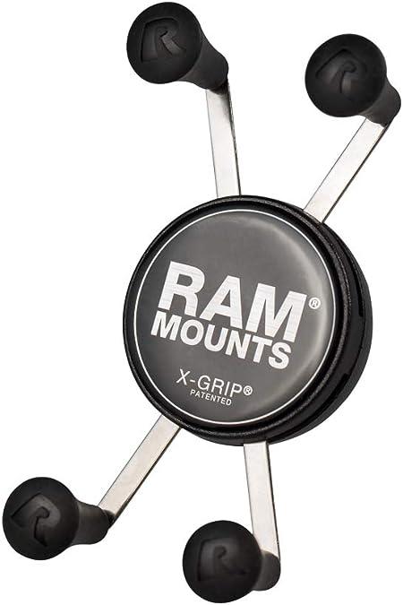 Ram X Grip Klemme Für Smartphones Inkl Kugel Für Ram Klemmarm Gerätebreite 2 2 8 2 Cm Auto