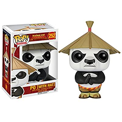 Funko POP Movies: Kung Fu Panda - Po with Hat Action Figure: Funko Pop! Movies:: Toys & Games