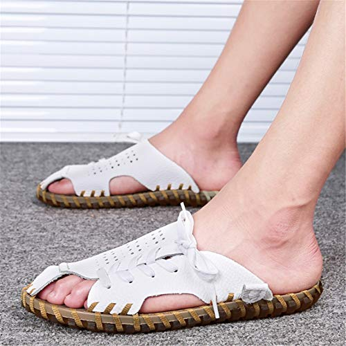 Uomo In Colore Dimensione Wagsiyi Scarpe EU Marrone Pelle Per spiaggia Pantofole 42 pantofole Marrone da Traspiranti Pantofole Tempo Libero Il 2 3 Pantofole Da qUxa7Uw