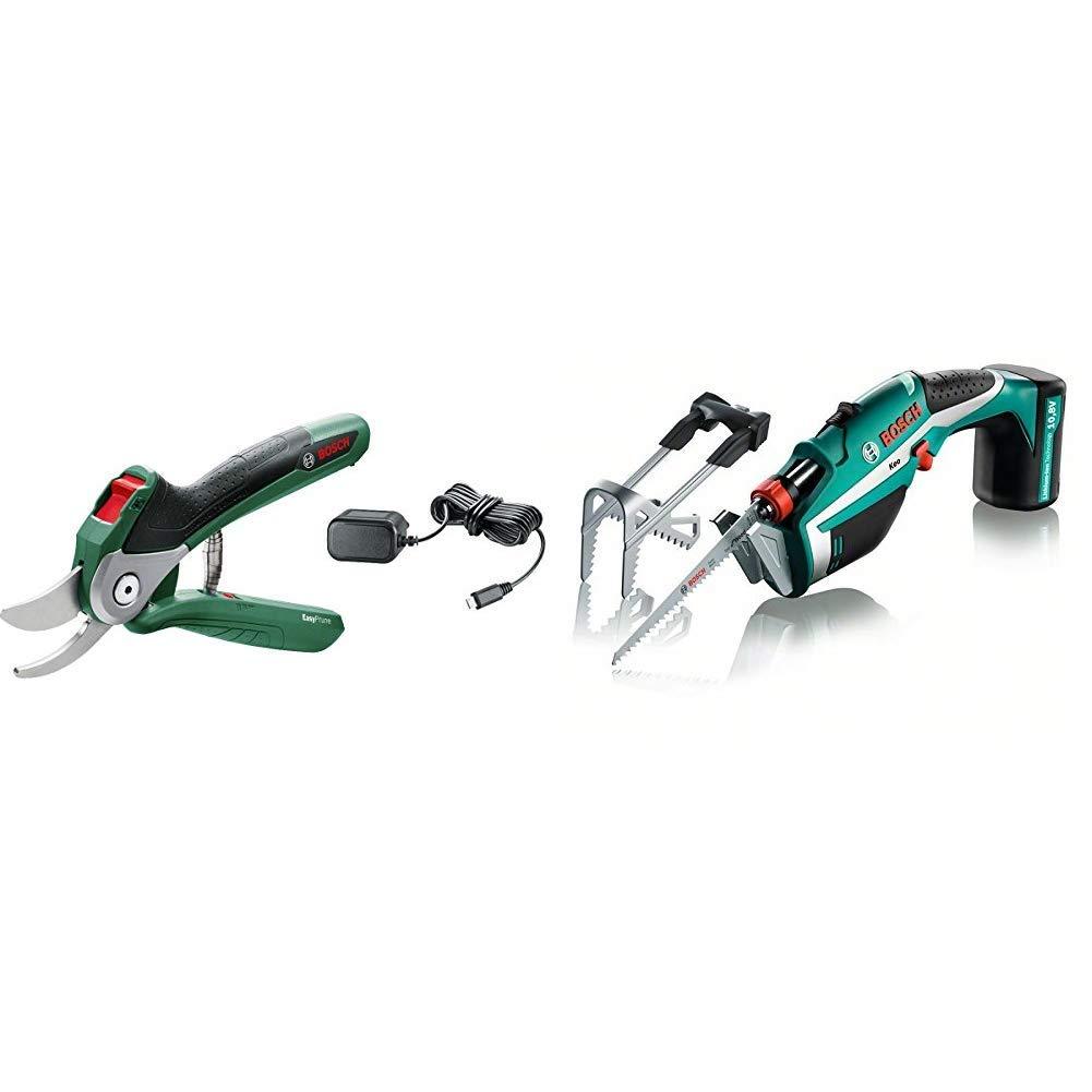 450 Cortes per Carga de Bater/ía Bosch Home and Garden 06008B2000 Tijeras de Podar 3.6 V Integrada 5.4 W en Bl/íster