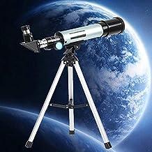 Telescopio astronómico refractivo 90X Telescopio monocular F36050 Telescopio gran angular de gran alcance con trípode