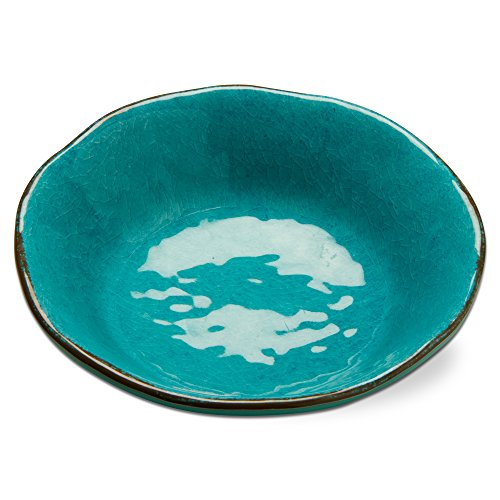 tag - Veranda Melamine Bowl, Durable, BPA-Free and Great for Outdoor or Casual Meals, Ocean Blue (Set Of 4)