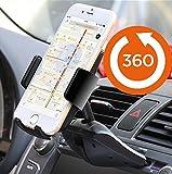 Agoz 360° Rotating Car CD Slot Mount Holder for