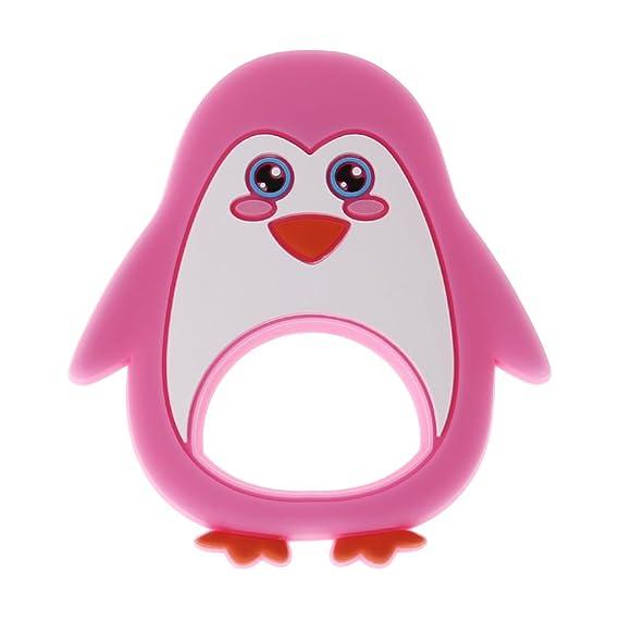JAGENIE bebé mordedor Chupete pingüino dentición enfermería ...