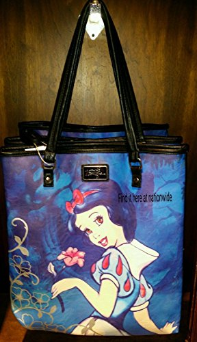 Snow White Purse (Disney Boutique SNOW WHITE Large Print Tote Bag Purse)