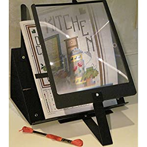 Prop-It Hands-Free Page Magnifier and Stand