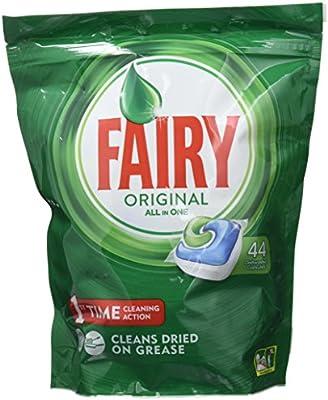 Fairy Original - Cápsulas Todo en 1 para Lavavajillas - 44 ...