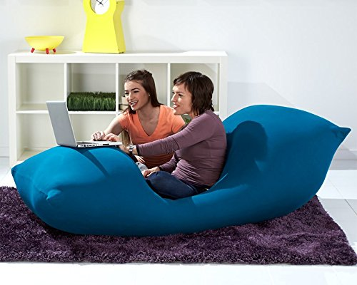 Yogibo Max Giant Bean Bag, 6', Turquoise, Blue
