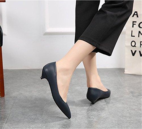 Femmes cm Bleu 34 à 43 Chaussures Talons Classics 3 DE EU w7WYvqI