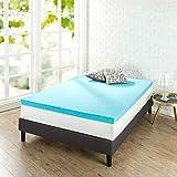 Egg Box Mattress Topper Single Zinus 3 Inch Gel Memory Foam, Twin Mattress Topper,