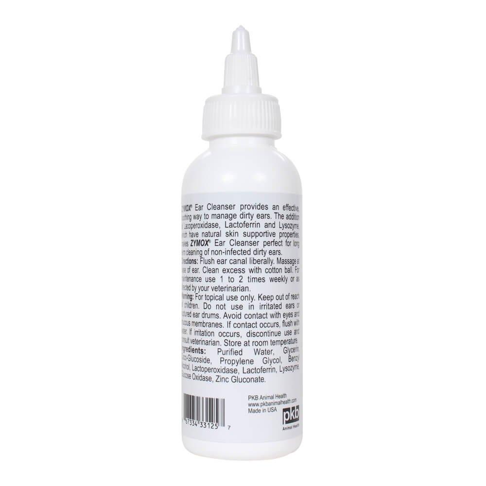 Pet King Brands Zymox oído Limpiador con enzimas bioactivas ...