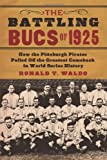 The Battling Bucs of 1925, Ronald T. Waldo, 0786464593