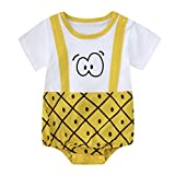 KaloryWee Newborn Kids Baby Boys Clothes Sleeveless Camouflage Romper Jumpsuit Pajamas Clothing (12-18 Months, EyeWatermelonSkin)