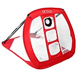 Holarose Golf Chipping Net, Portable Pop Up Golf Practice Net Collapsible Outdoor/Indoor Golfing Target Net for Backyard Tailgate Office Practice Swing Game