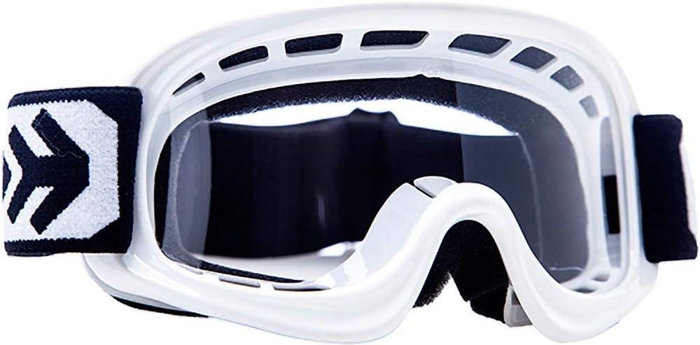 Motorrad-Helm ARMOR Helmets AKC 49 Kinder Schutz-Brille Blau