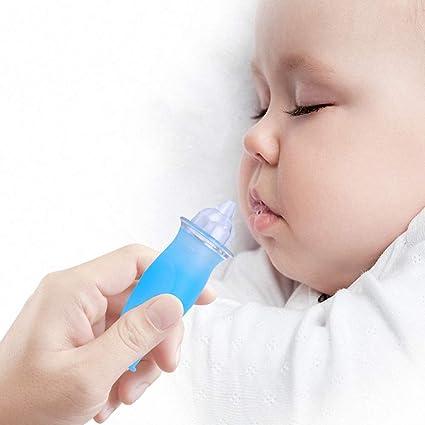 Como limpiar la nariz de un bebe recien nacido