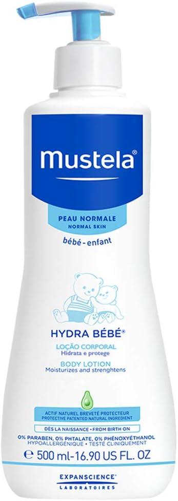 Mustela Hydra Bébé - Loción para cuerpo 500ml