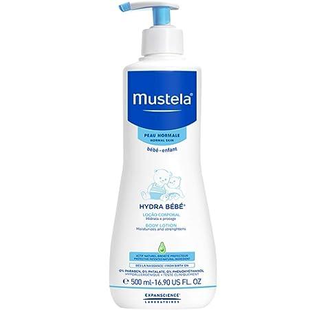 Mustela Hydra Bébé - Loción para cuerpo 500ml: Amazon.es: Alimentación y bebidas