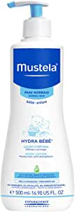 Mustela Hydra-Bebe Body Lotion for Normal Skin, 16.91 fl.oz