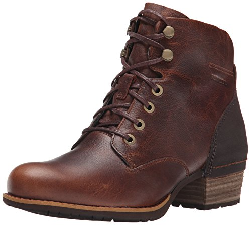 Leather Ankle Boot Lace (Merrell Women's Shiloh Lace Boot, Oak, 8.5 M)