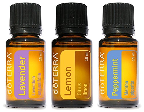 doTERRA Beginners Trio Essential Oils product image