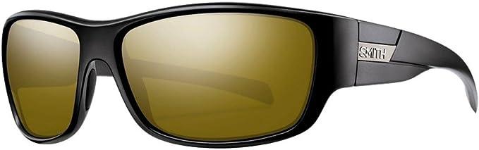 Smith Range Chroma Pop Polarized Sunglasses Matte Black Smith Optics