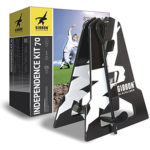 GIBBON Slacklines Independence Kit, 70cm, Yellow by GIBBON