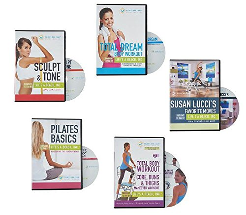 Pilates Pro Chair With 4 Dvds By Life S A Beach Smart: Pilates PRO Chair Max With Sculpting Handles By Life's A