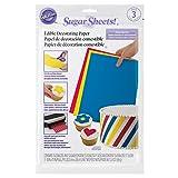 Wilton Multi-Pack Sugar Sheet; 3-Count